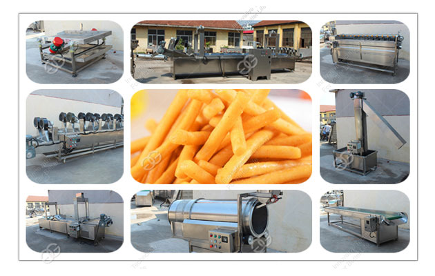 fries production line