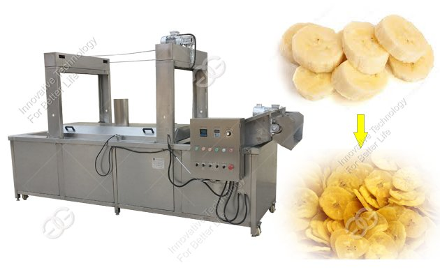 banana chips fry machine